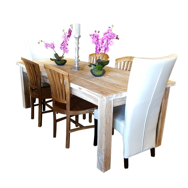 Solid Wood Dining Table by Chic Teak