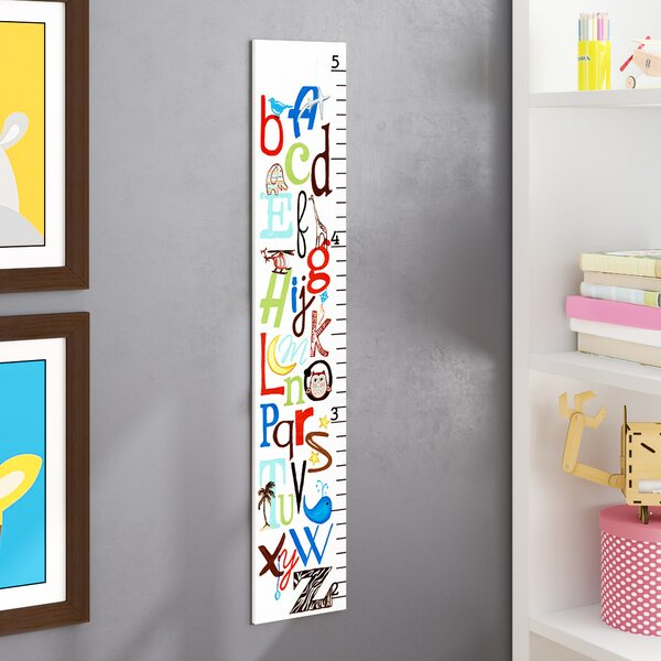 Toby ABC Growth Chart by Harriet Bee