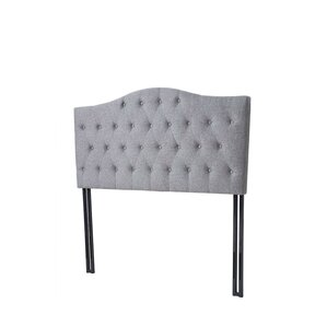 Upholstered Panel Headboard by Madison Home USA