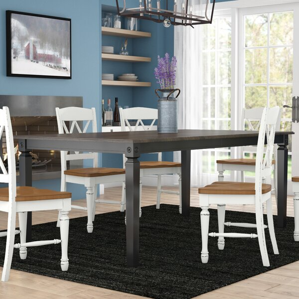 Nunnery Rectangular Dining Table by Gracie Oaks