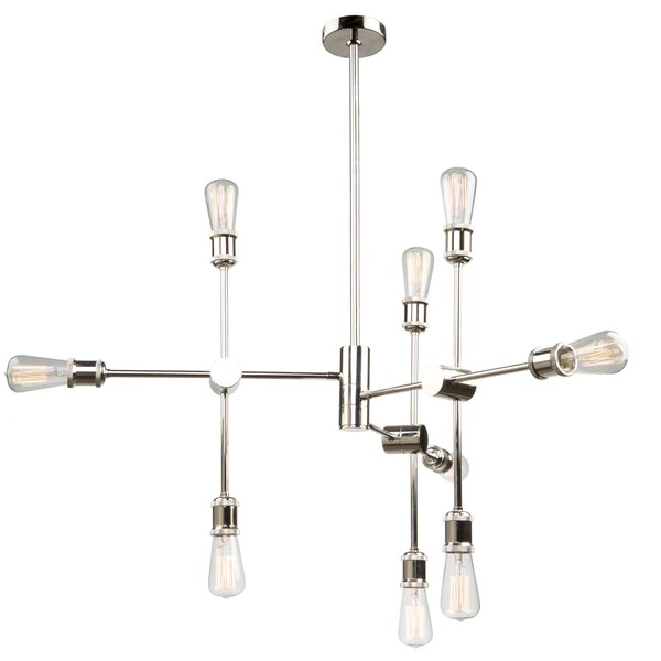 Tremaine 9-Light Chandelier by Corrigan Studio