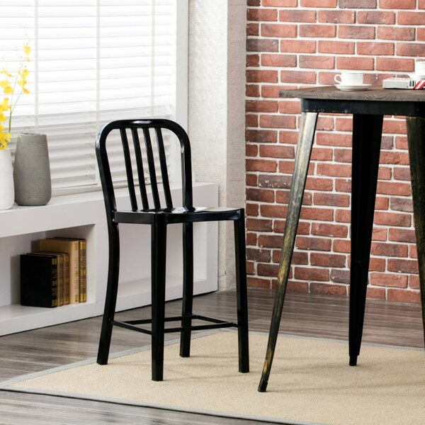 Hodnett 24.41 Patio Bar Stool (Set of 2) by Williston Forge