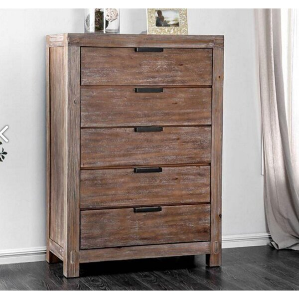 Denney 5 Drawer Chest by Foundry Select Foundry Select