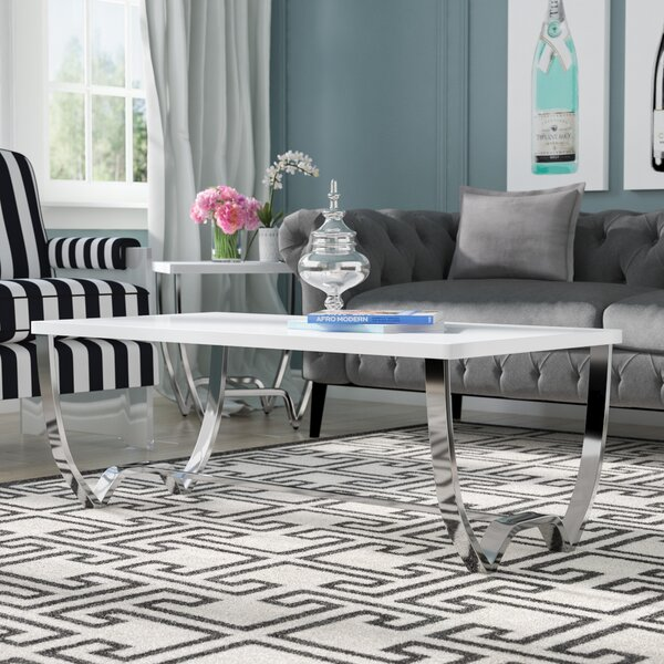 Aguayo Contemporary Coffee Table by Everly Quinn