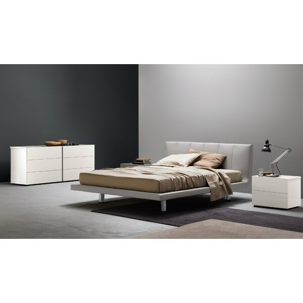 Siro Upholstered Platform Bed by San Giacomo