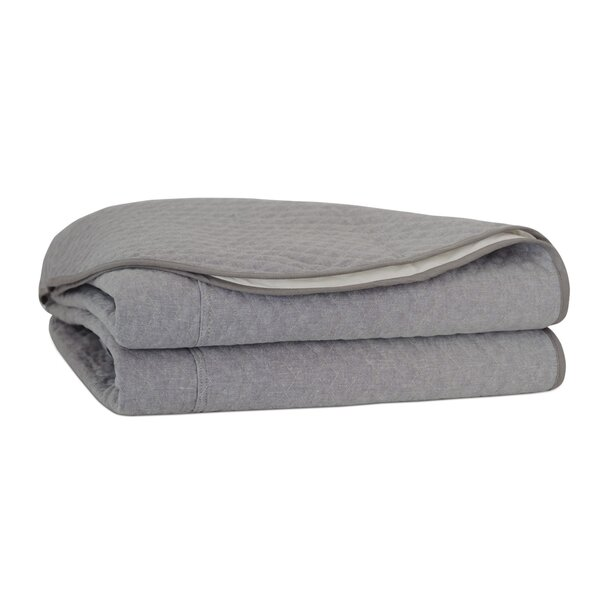 Downey Bowen Slate Single Coverlet