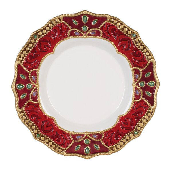 Renaissance Holiday 9 Salad Plate by Fitz and Floyd