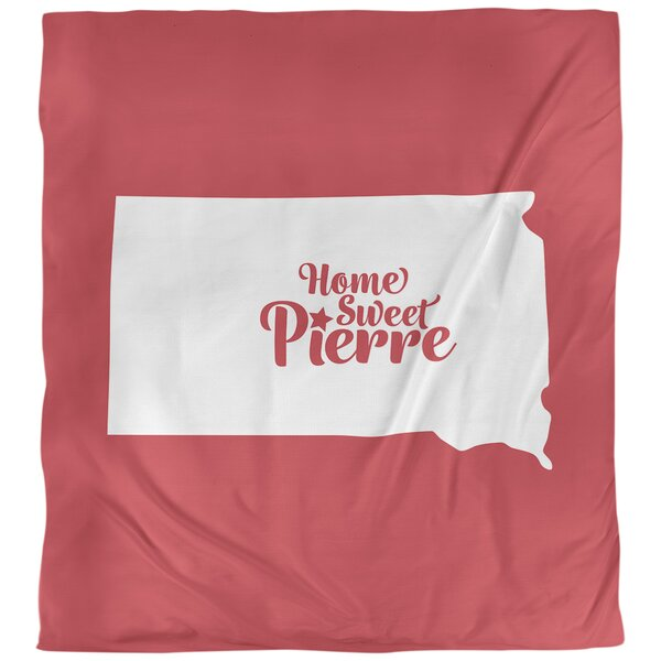 Pierre South Dakota Single Reversible Duvet Cover