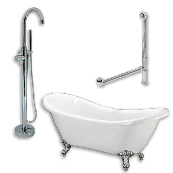 68 x 29 Clawfoot Bathtub by Cambridge Plumbing