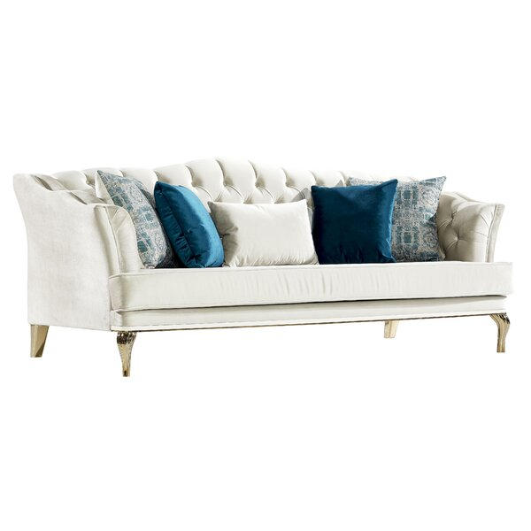 Lowest Price For Patria Baby Face Sofa by House of Hampton by House of Hampton