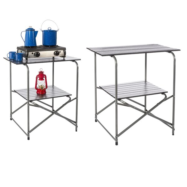 Kemmer 2 Tier Prep Table by Symple Stuff