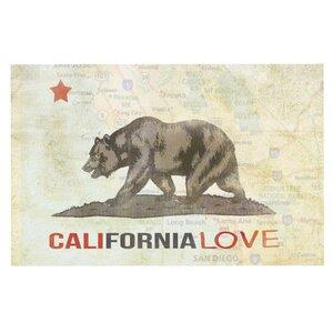 iRuz33 'Cali Love' Doormat