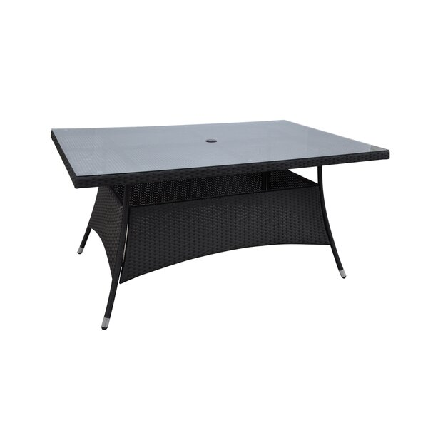 Patio Wicker Dining Table by JB Patio