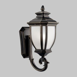 Compare & Buy Greenview Traditional 1-Light Outdoor Wall Lantern By Three Posts