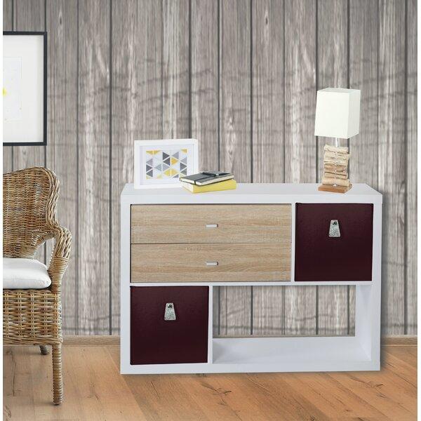 Maez Geometric Bookcase By Ebern Designs