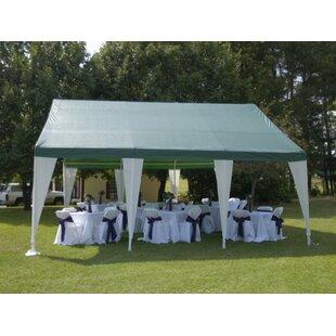 20 Ft. W x 20 Ft. D Steel Party Tent  sc 1 st  Wayfair & Outdoor Party Tents | Wayfair