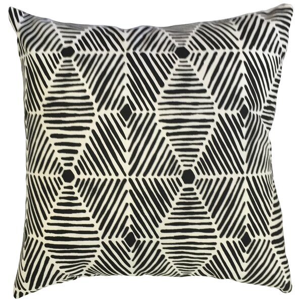 Downen Geometric Floor Pillow by Bloomsbury Market