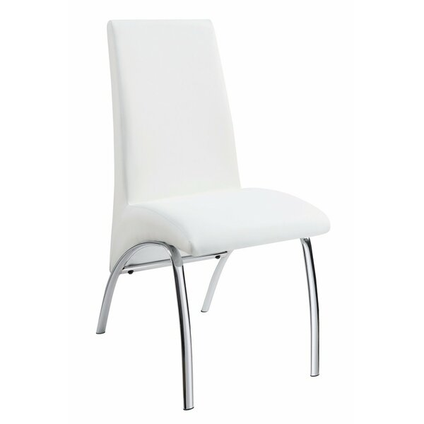Renk Contemporary Upholstered Dining Chair (Set of 2) by Orren Ellis