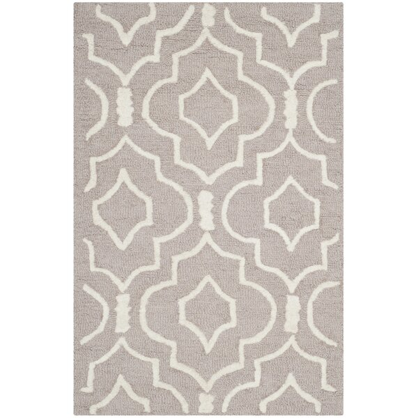 Martins Beige / Ivory Area Rug by Wrought Studio