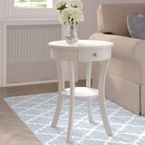 Moravian Classic Accents End Table with Storage by Alcott Hill®