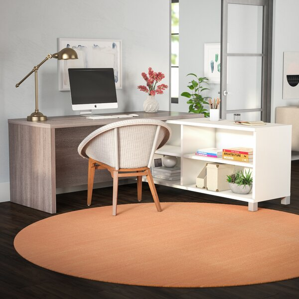 Ariana L-Shape Executive desk by Mercury Row