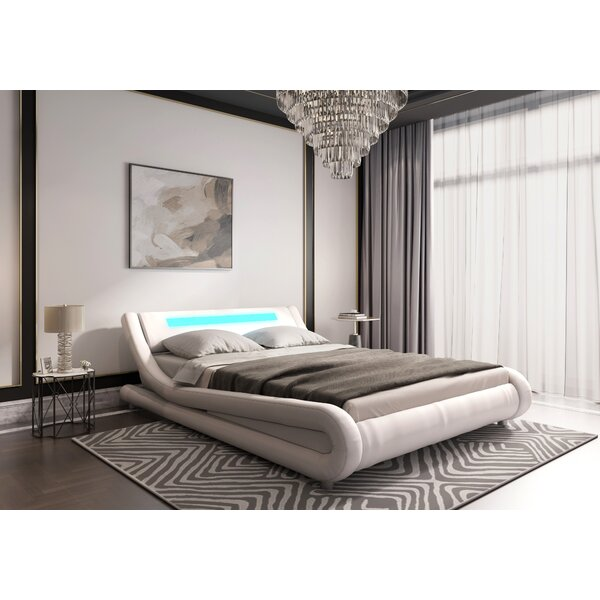 Abner Upholstered Sleigh Bed By Orren Ellis by Orren Ellis Best Choices