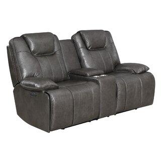 Almada Leather Reclining Loveseat by Latitude Run SKU:BD111066 Price Compare