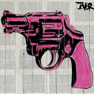 'Pop Gun' Graphic Art on Wrapped Canvas by East Urban Home