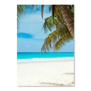 'Beach Holiday Travel Style' Photographic Print by East Urban Home