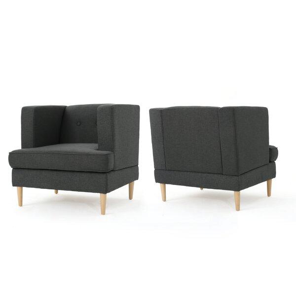 Burnham Armchair (Set of 2) by Ivy Bronx