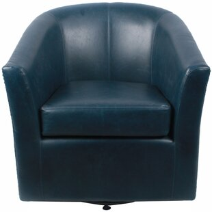 Superieur Blue Swivel Chair | Wayfair