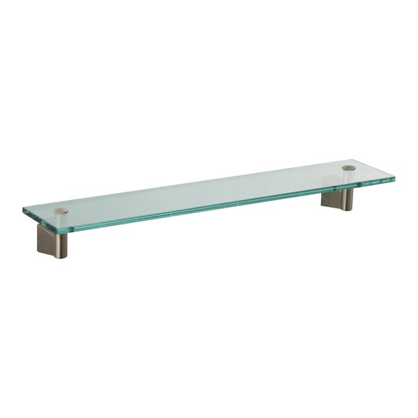 Bleu Wall Shelf by Gatco