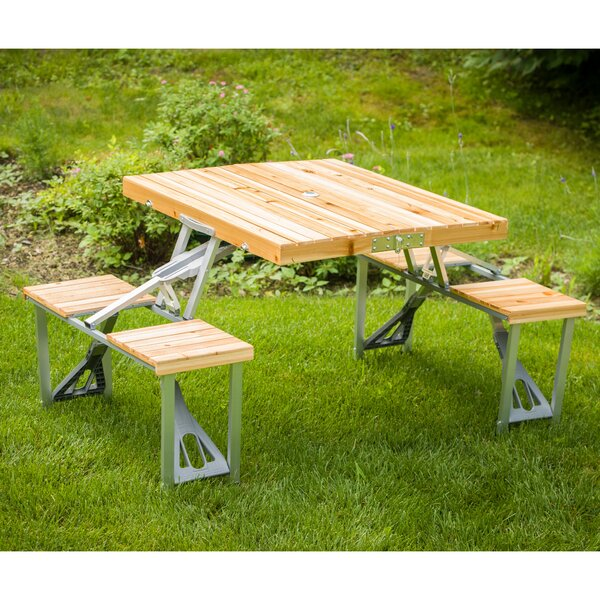 Shick Picnic Table by Leisure Season