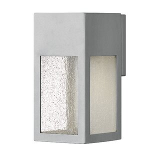 Reviews Rook LED Outdoor Wall Lantern By Hinkley Lighting