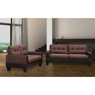 Charie 2 Piece Living Room Set by Wrought Studio™