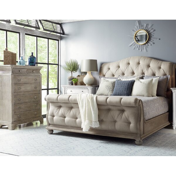 Sleigh Platform Configurable Bedroom Set by Dowton Abbey
