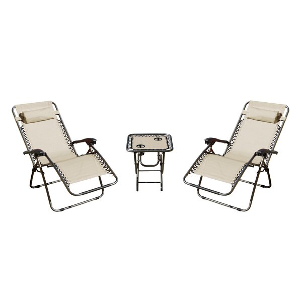 Shumaker 3 Piece Conversation Set by Andover Mills