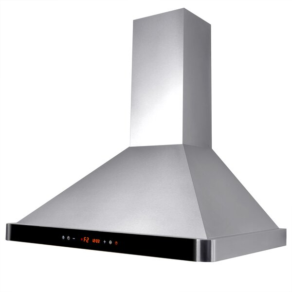 30 312 CFM Convertible Wall Mount Range Hood by AKDY