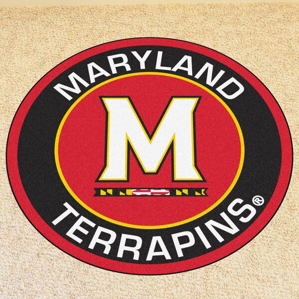 NCAA University of Maryland Roundel Mat by FANMATS