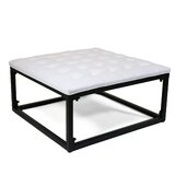 Bellville Tufted Cocktail Ottoman by Ivy Bronx
