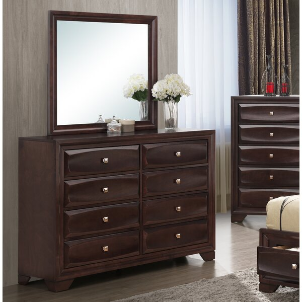Tethys 8 Drawer Double Dresser by Wrought Studio
