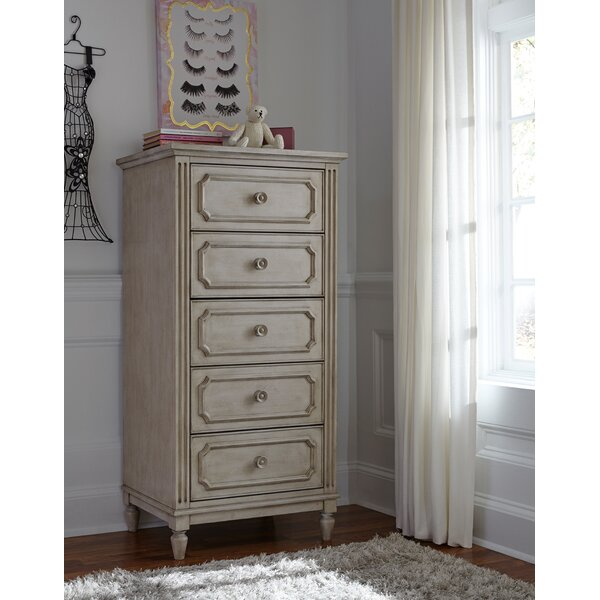 Alaina 5 Drawer Lingerie Chest by One Allium Way