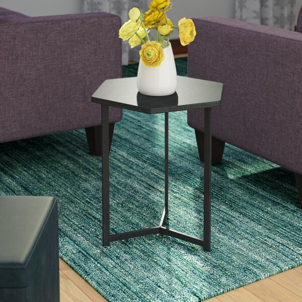 Prather Modern End Table by Wrought Studio