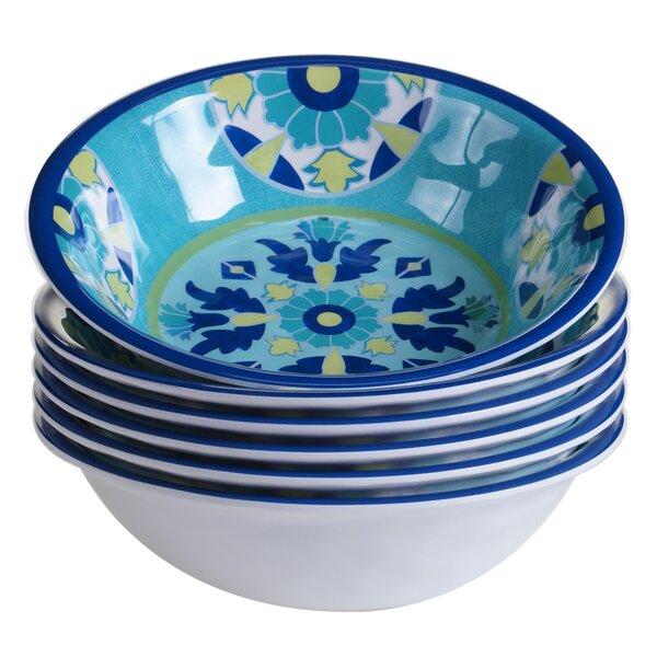 Granada Heavy Weight Melamine Salad Bowl (Set of 6) by Certified International