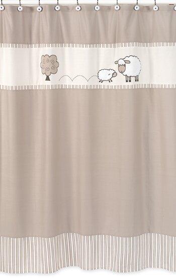 Little Lamb Shower Curtain by Sweet Jojo Designs
