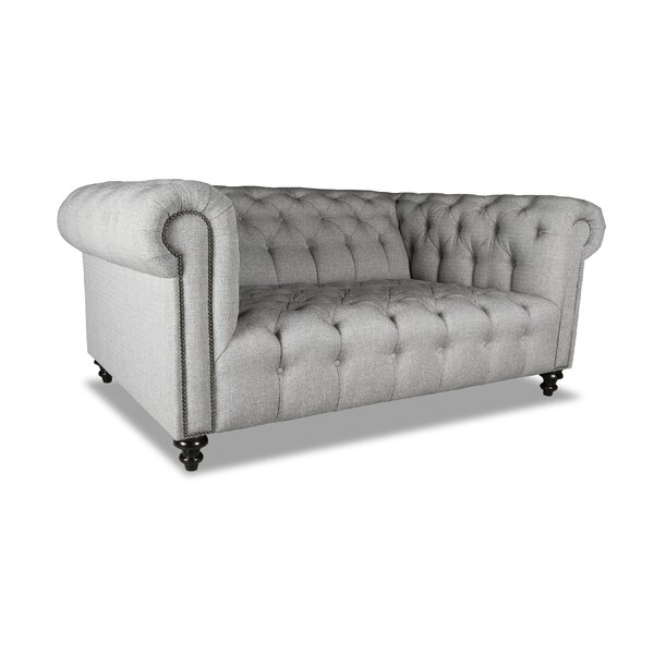 Estill Plush Deep Chesterfield Sofa by Darby Home Co