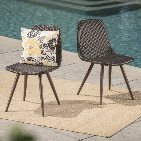 Patio Dining Chair (Set Of 2) By Langley Street