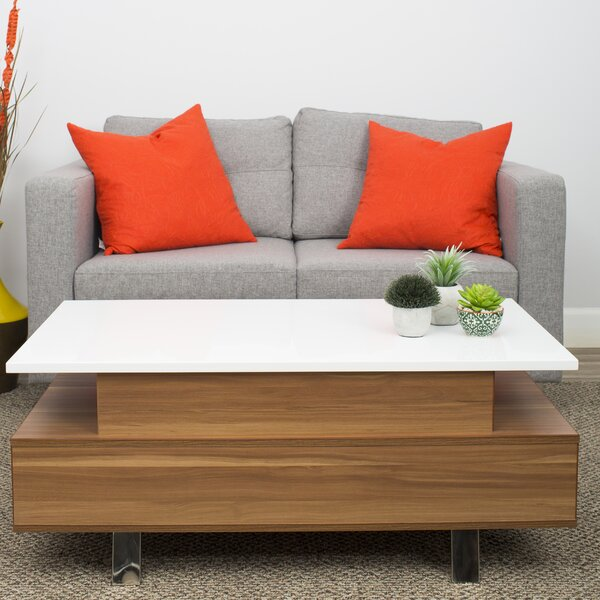 Naidu Lift Top Coffee Table with Storage by Orren Ellis Orren Ellis