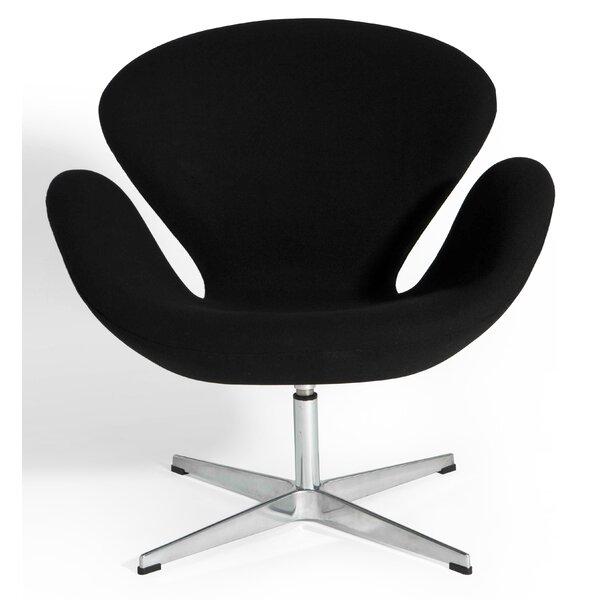 Elizabeth Swivel Lounge Chair by Orren Ellis