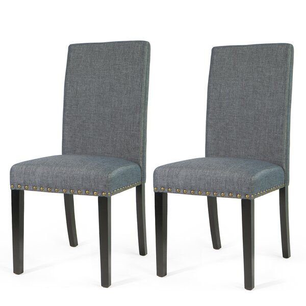 Alcala Upholstered Dining Chair (Set Of 2) By Winston Porter